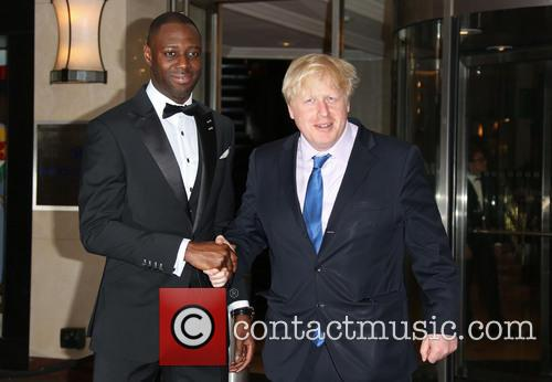 Boris Johnson and Ledley King 2