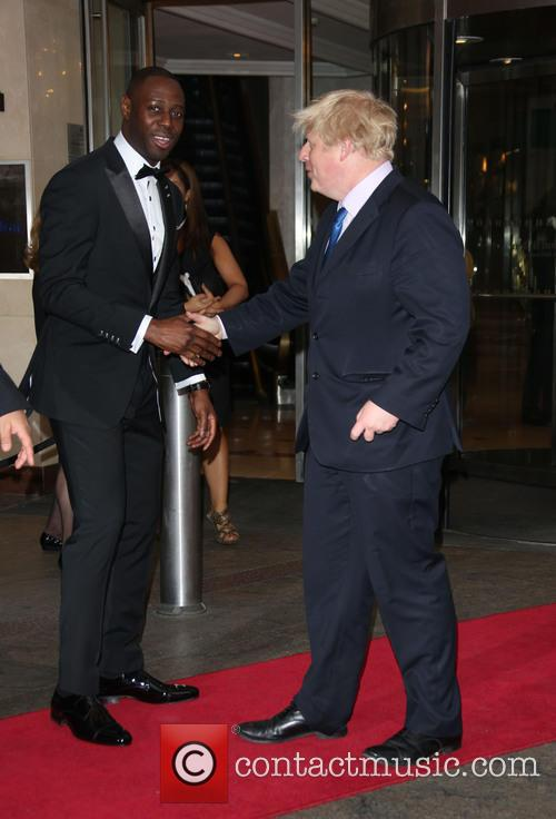 Boris Johnson and Ledley King 1