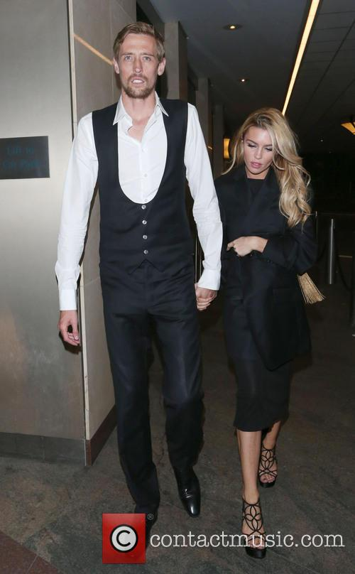 Peter Crouch and Abbey Clancy 11