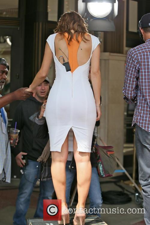 Maria Menounos is seen at The Grove hosting...