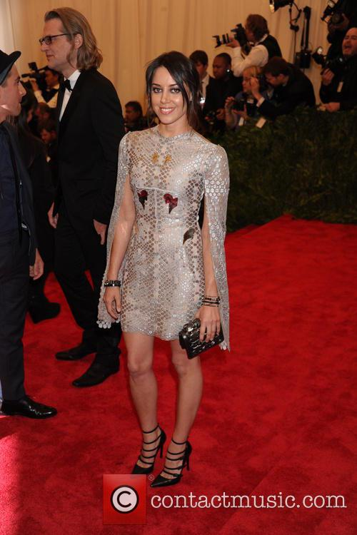 aubrey plaza punk chaos to couture costume 3648612