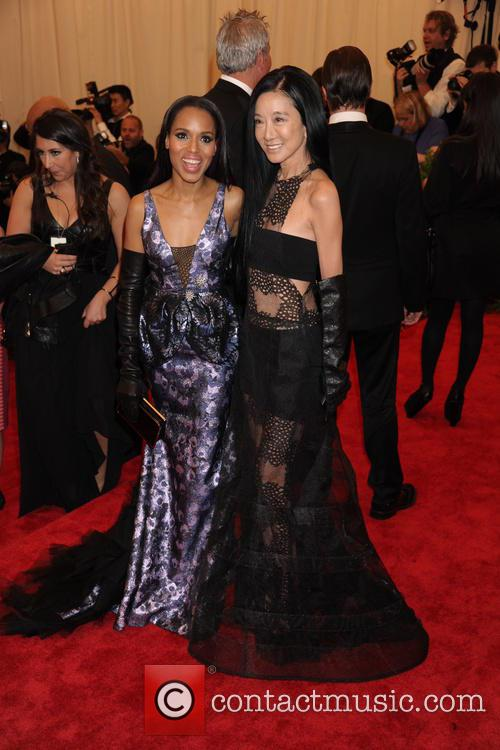 Kerry Washington and Vera Wang 3
