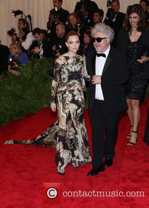 Pedro Almodovar and Amanda Seyfried 2
