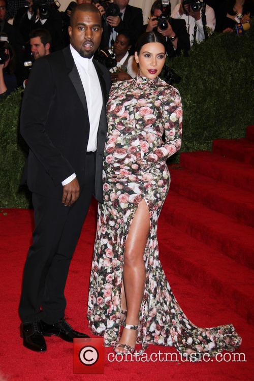 Kim Kardashian, Kanye West, Punk: Chaos to Couture Gala