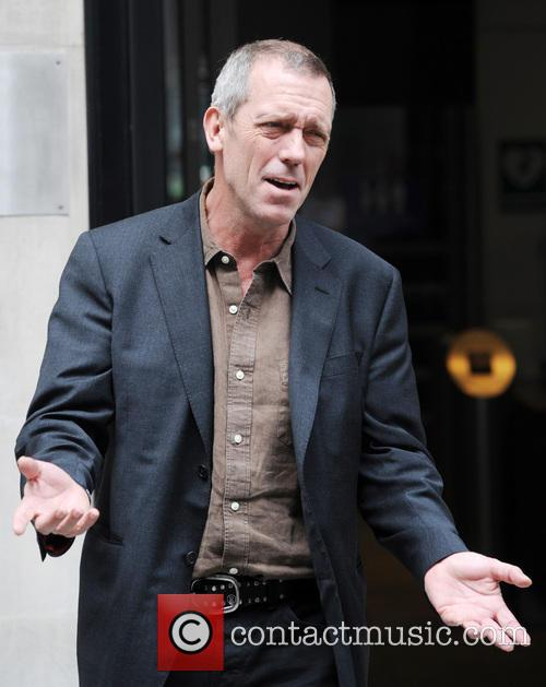 hugh laurie hugh laurie outside the bbc 3647506