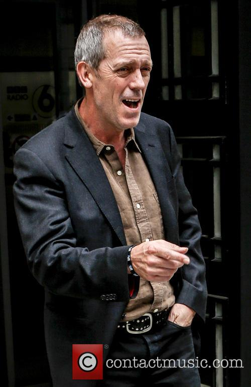 hugh laurie hugh laurie outside the bbc 3647557