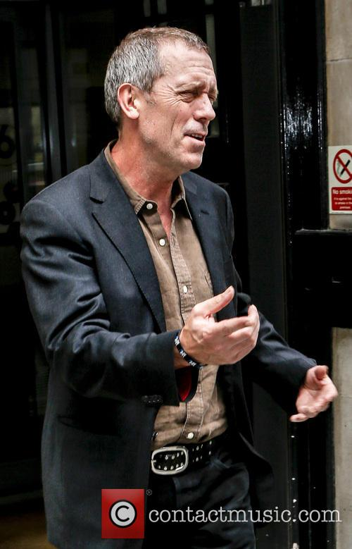 hugh laurie hugh laurie outside the bbc 3647558