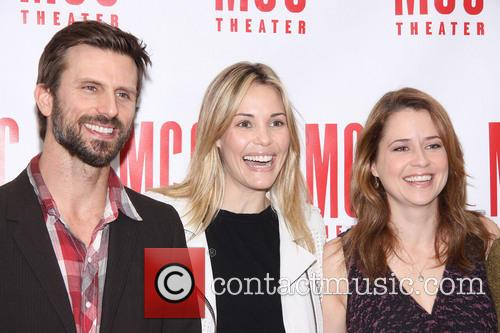 Fred Weller, Leslie Bibb and Jenna Fischer 9