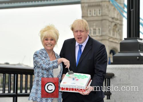 Boris Johnson and Barbara Windsor 9