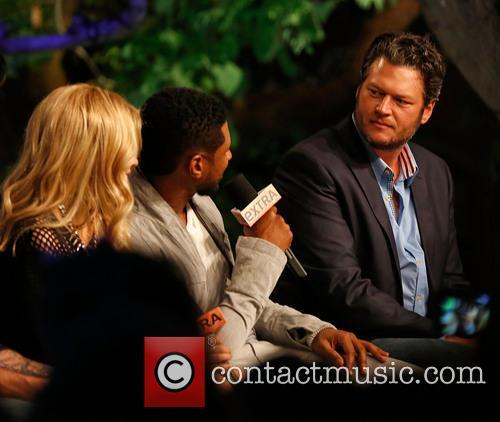 Shakira, Usher and Blake Shelton 1