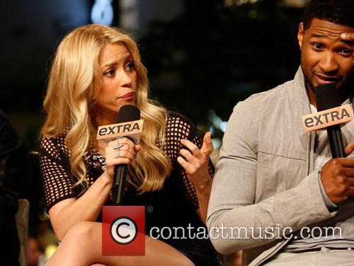 Shakira and Usher 6