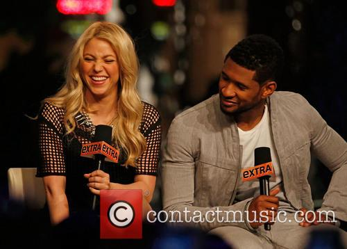 Shakira and Usher 9