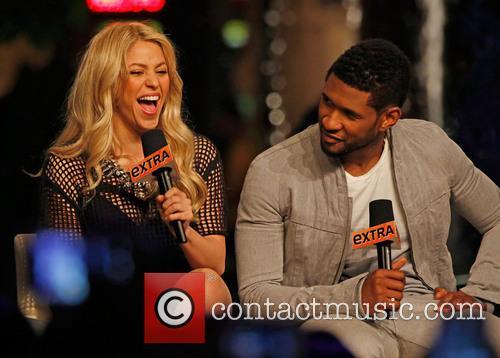 Shakira and Usher 11