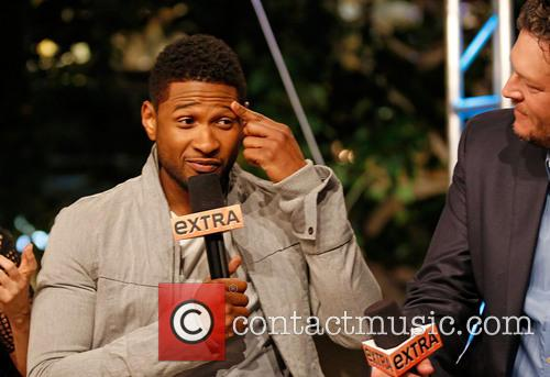 Usher and Blake Shelton 1