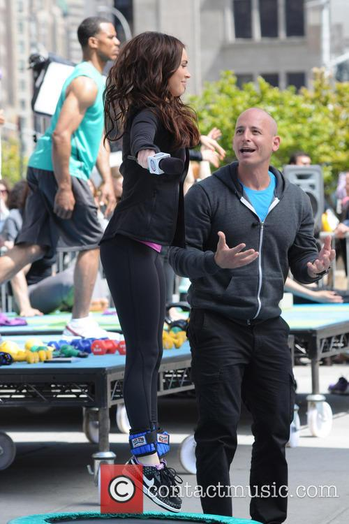 Harley Pasternak and Megan Fox 2