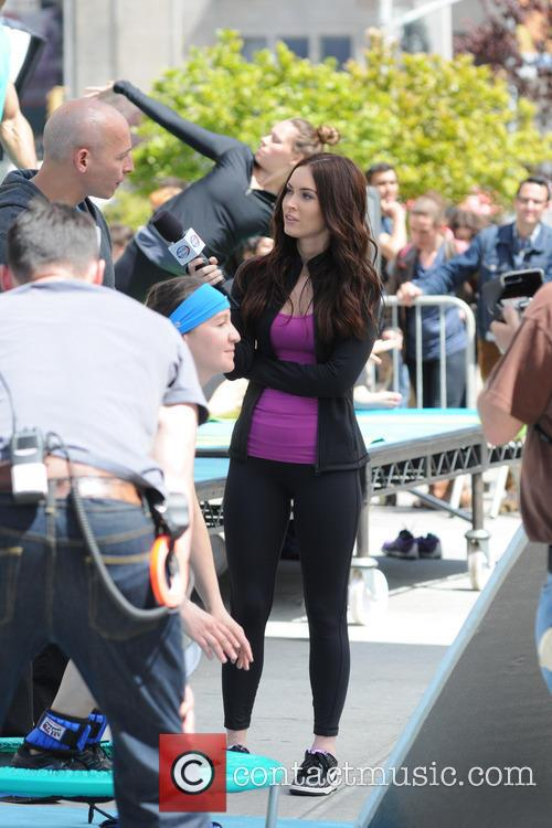 Harley Pasternak and Megan Fox 5