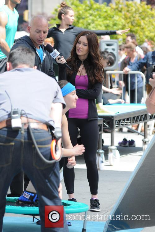 Harley Pasternak and Megan Fox 6