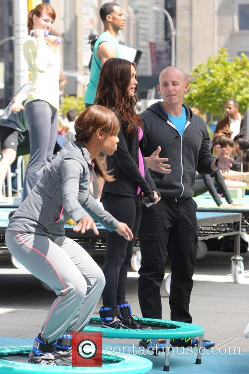 Harley Pasternak and Megan Fox 7