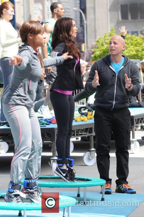 Harley Pasternak and Megan Fox 8