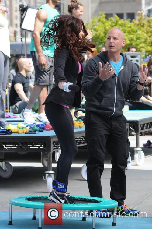 Harley Pasternak and Megan Fox 1