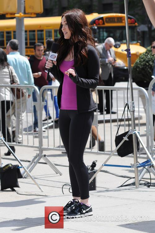Megan Fox plays a reporter in the new movie