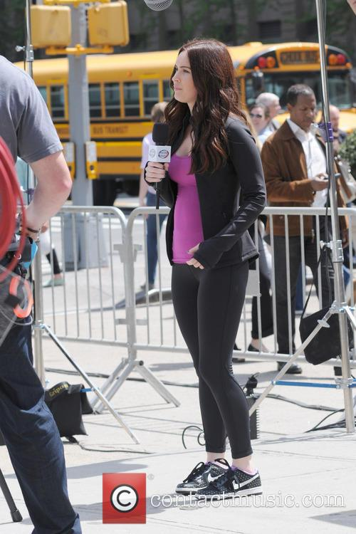 megan fox actors on the set of 3650550