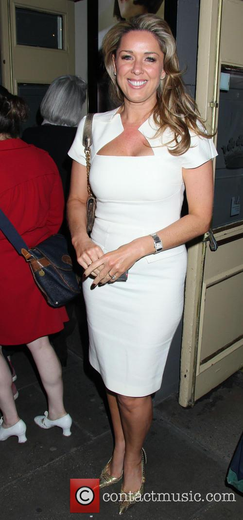 claire sweeney celebrities leaving the passion play 3651462