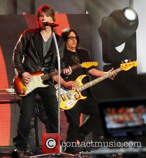 Goo Goo Dolls performing live at 'Jimmy Kimmel...