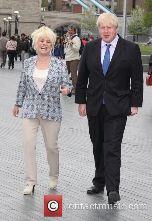 Boris Johnson and Barbara Windsor 2