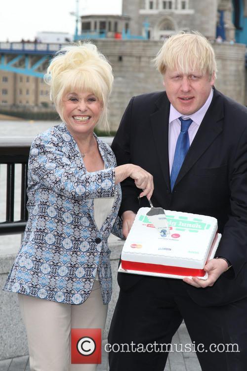 Boris Johnson and Barbara Windsor 1