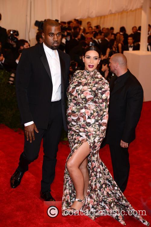 Kanye West Kim Kardashian Gala