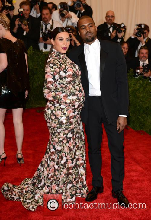 Kim Kardashian and Kanye West Met Ball 2013