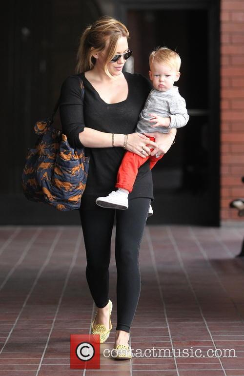 Hilary Duff and Luca Comrie 2