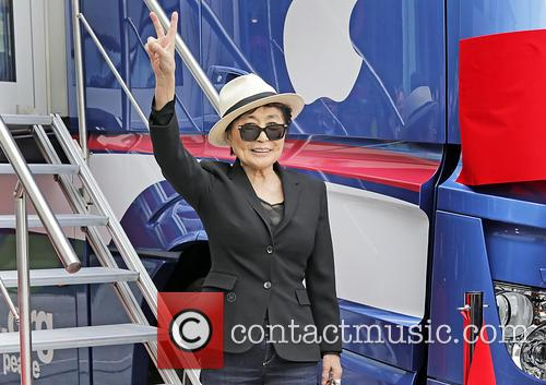 Yoko Ono at The Museum of Liverpool