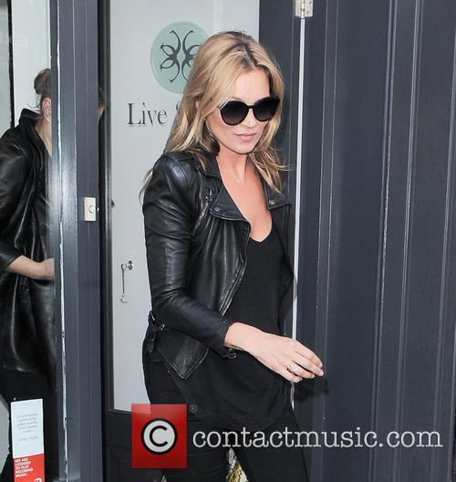 Kate Moss out and about