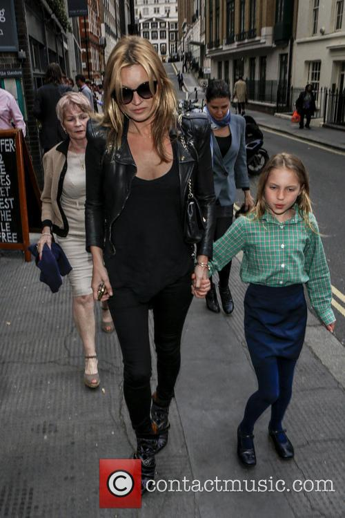 Kate Moss and Lila Grace 1