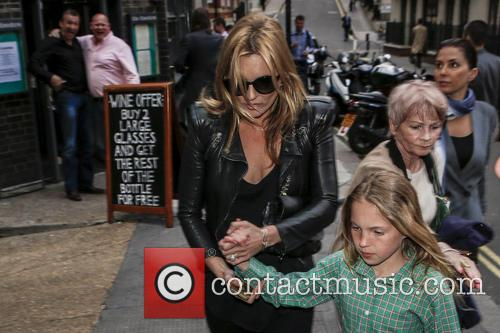 Kate Moss and Lila Grace 2