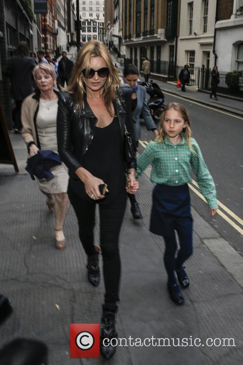Kate Moss and Lila Grace 6