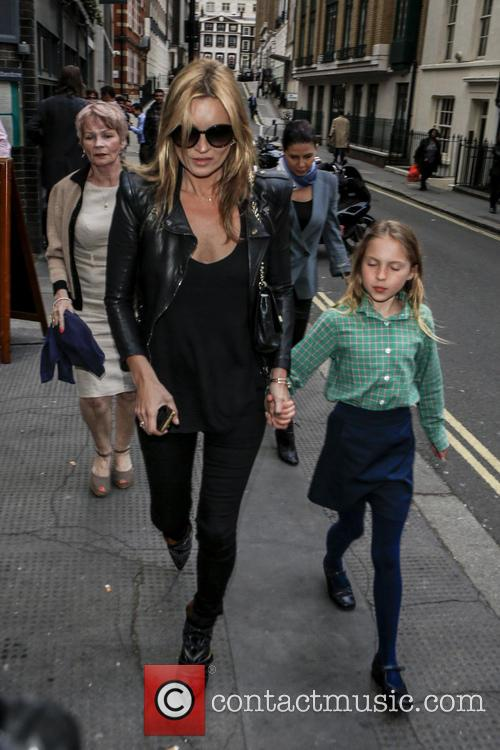 Kate Moss and Lila Grace 7