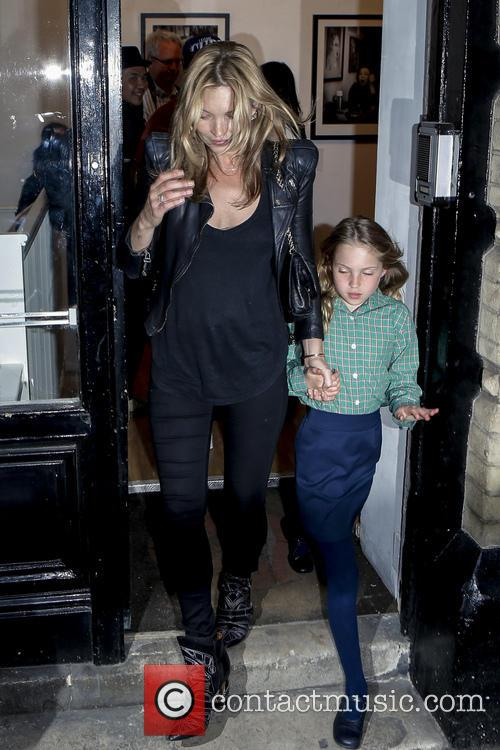 Kate Moss and Lila Grace 8