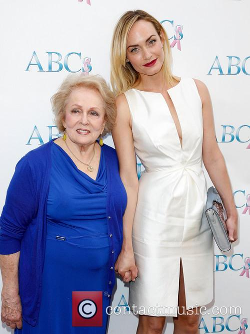 Grandma Mary Jean and Amber Valletta 1