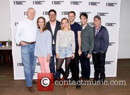 David Morse, Lisa Emery, Rich Sommer, Sarah Goldberg, Christopher Denham, Steven Levenson and Scott Ellis