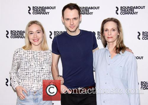 Sarah Goldberg, Christopher Denham and Lisa Emery 1