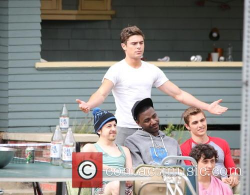 zac efron michael cera dave franco townies film set 3652880