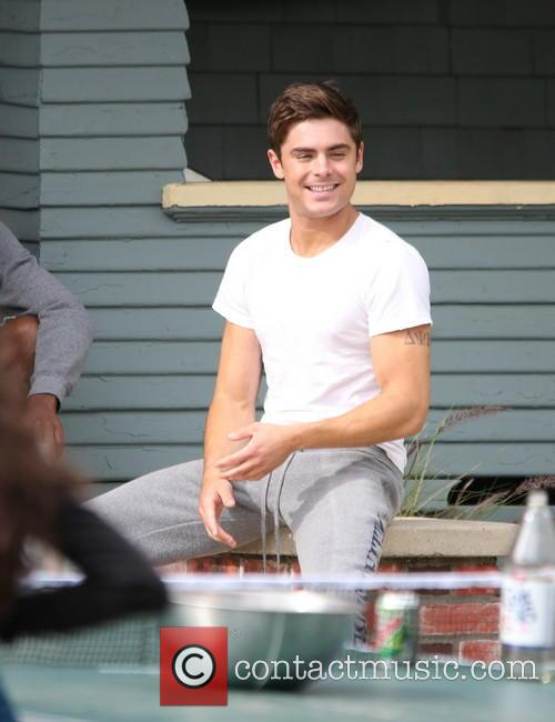 Zac Efron, Townies Film Set
