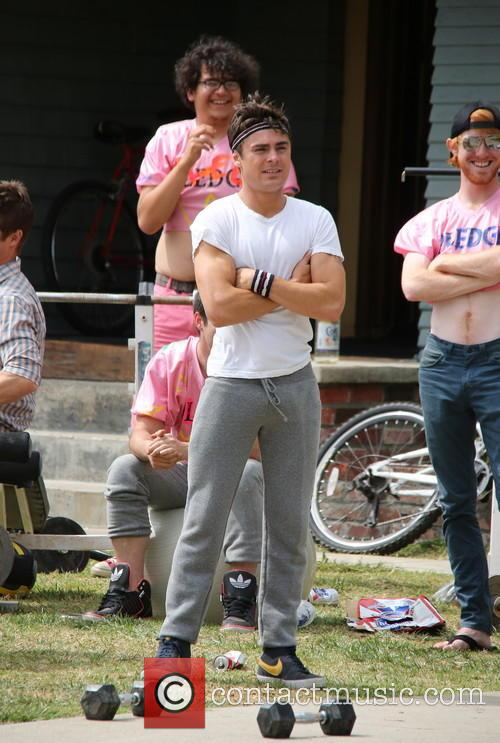 zac efron townies film set 3652836