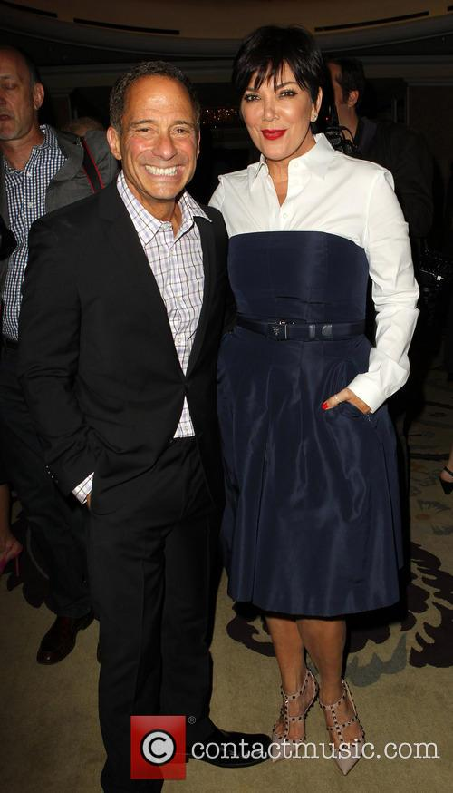 Harvey Levin and Kris Jenner 3