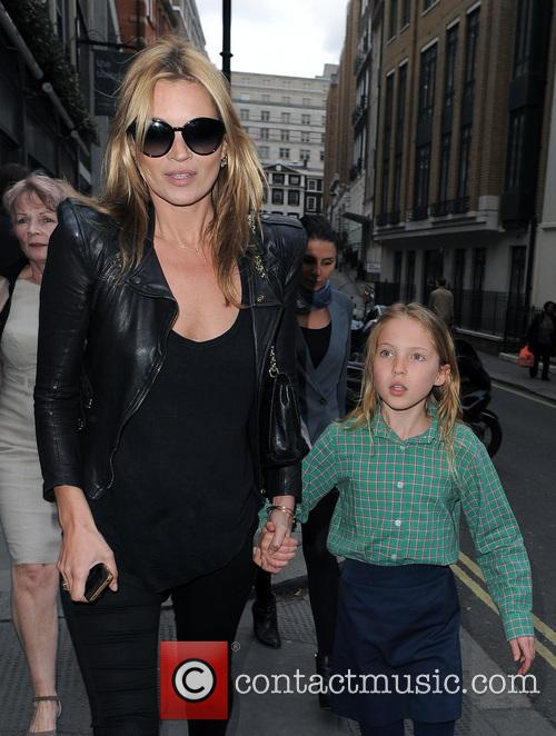 Kate Moss and her daughter Lila Grace Moss...