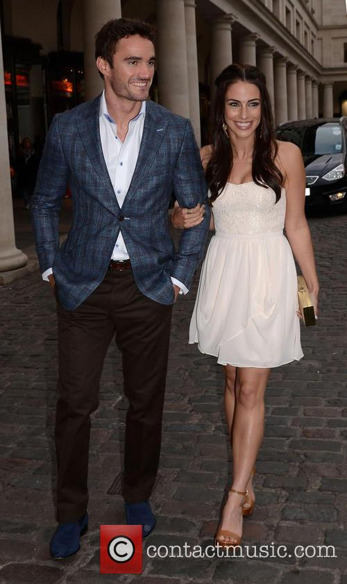 Jessica Lowndes and Thom Evans 13