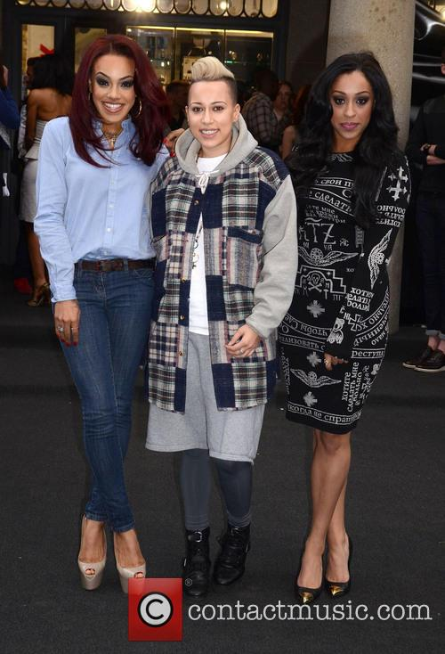 Karis Anderson, Courtney Rumbold, Alexandra Buggs and Stooshe 3